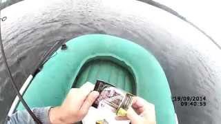 Ловля окуня на отводной поводок осенью (видео-отчет) Рыбалка 19 сентября 2014