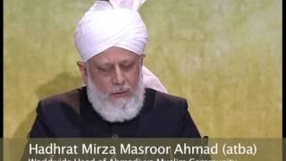 Ahmadiyya Peace Symposium 2013, UK