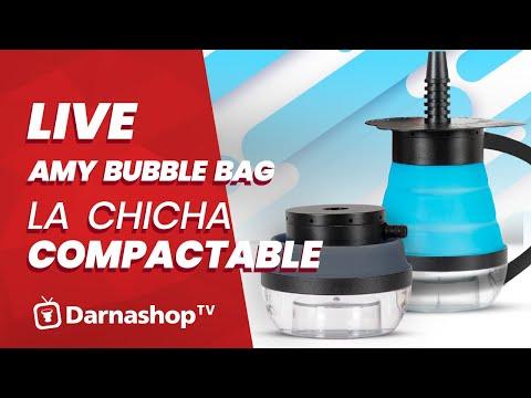 🔴 [ LIVE ] AMY Bubble Bag: Une chicha compactable à emmener partout testée en live!