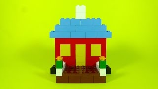How To Build Lego Basic House - 4630 Lego® Build & Play Box Building Instructions For Kids