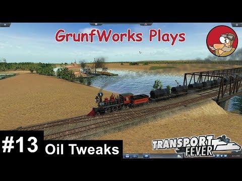 Transport Fever - Real USA - 013 - Oil Tweaks - Let's Play