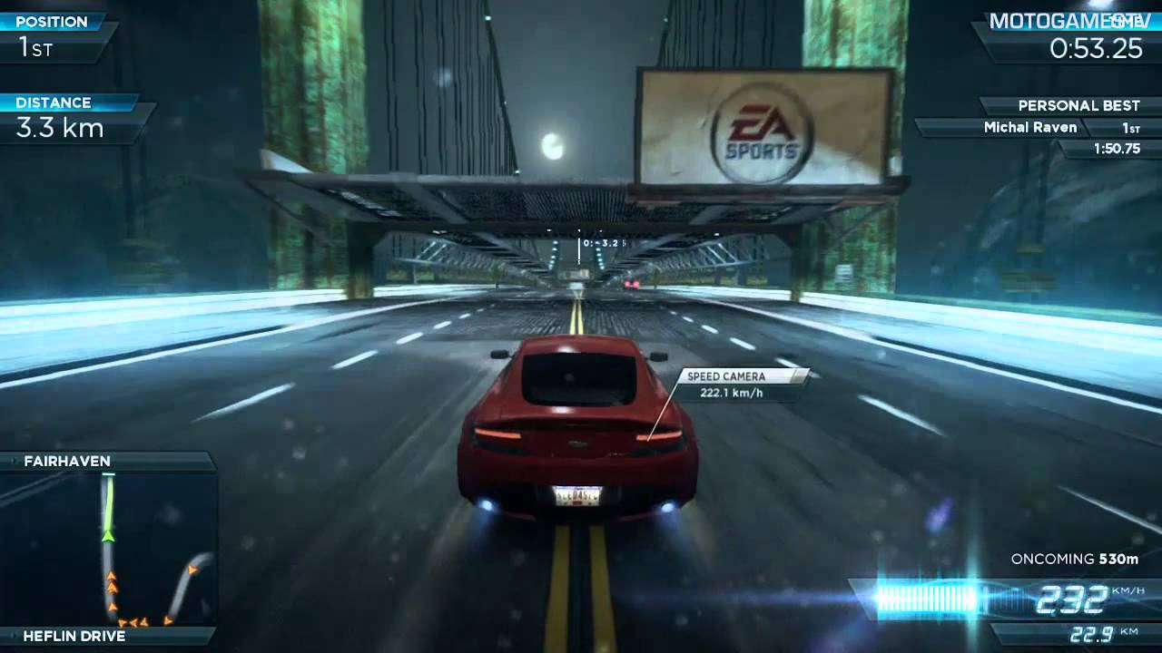 Need For Speed Most Wanted 2012 Aston Martin V12 Vantage
