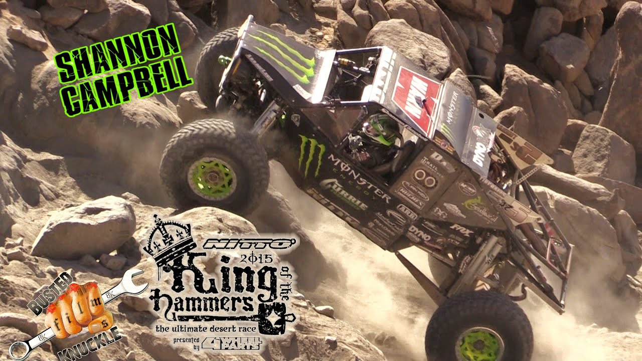 SHANNON CAMPBELL KING OF THE HAMMERS 2015