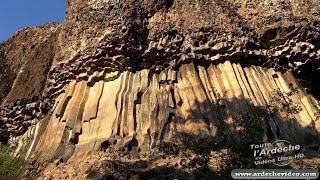 Ardèche - Les Coulées Basaltiques de Mirabel