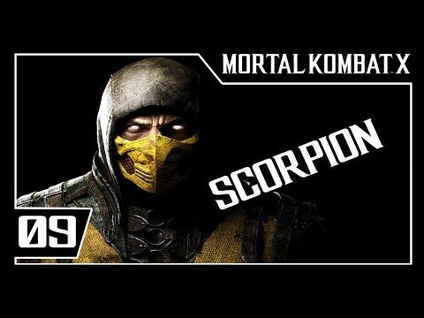 MORTAL KOMBAT X - Modo História Parte #9 - SCORPION  - Dublado [1080p 60fps]