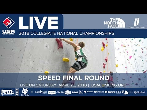 Final Round • 2018 Collegiate Speed National Championships • 4/21/18 10:00 AM