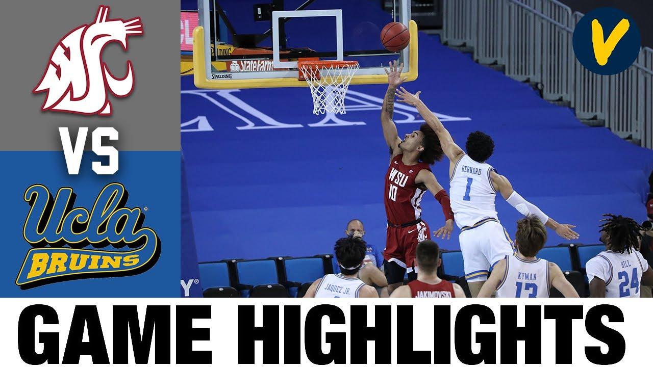 Washington State vs UCLA Highlights | 2021 College Basketball Highlights