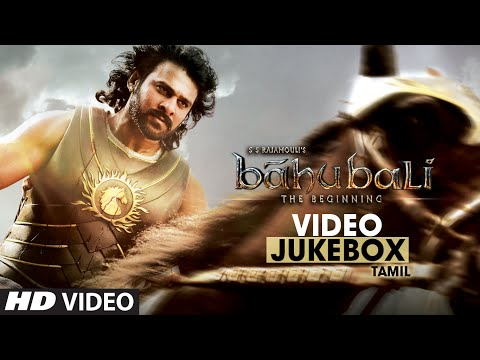 Baahubali Video Jukebox (Tamil) || Prabhas, Anushka, Rana Daggubati, Tamannaah || Bahubali Jukebox