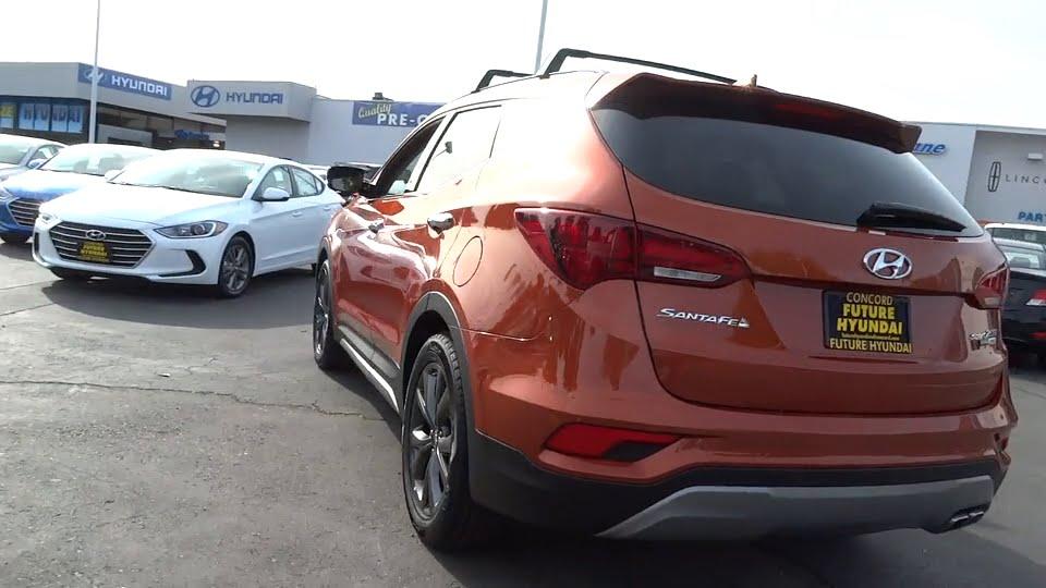 2017 Hyundai Santa Fe Sport Walnut Creek, East Bay, Dublin, Concord,  Livermore, CA H5294. Future Ford Hyundai