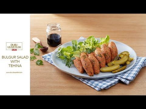 Bulgur Salad With Tehina