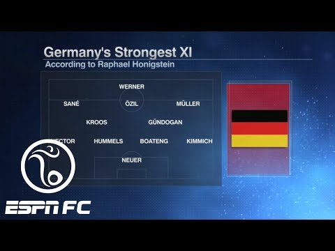 Germany's World Cup starting XI might even be better than Brazil's | ESPN FC