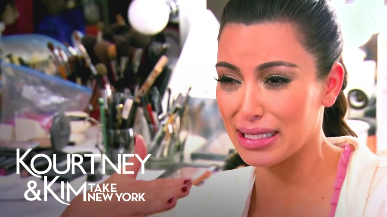 Kim Kardashian Crying Faces Guide Best Ugly Cry Moments
