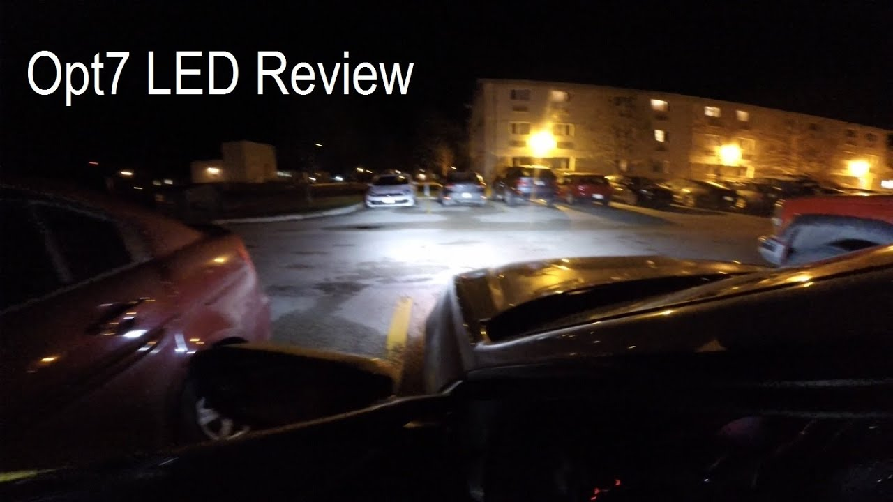 Opt7 Led Headlights Review And Comparison Vs Halogens