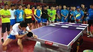 【卓球】これが一流中国選手、馬龍のトレーニングだ!!【衝撃】training【Ma Long】