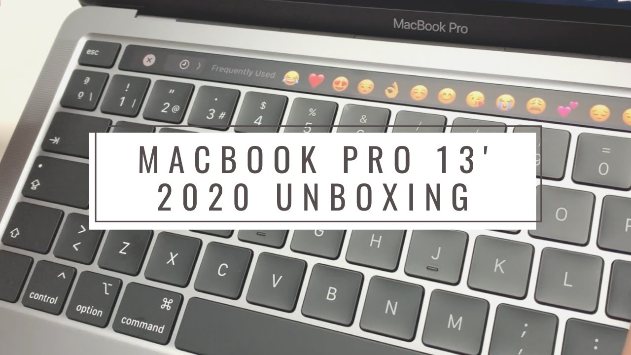 Macbook Pro 13' Unboxing - Why you should get the base model?