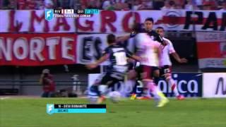 Gol de Buonanotte.River 1 Quilmes 1.Fecha 2. Torneo Primera División 2015.FPT