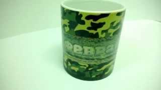 Оригинальная термочашка на 23 февраля (Магическая чашка). Класс! Меняет цвет от теплого чая! Харьков(Оригинальный подарок - чашка Хамелеон с Вашим изображением. Зелёная чашка меняет цвет под воздействием..., 2013-12-27T15:42:47.000Z)