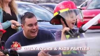 Fire Truck Tours Showreel by Fire4Hire - 2016