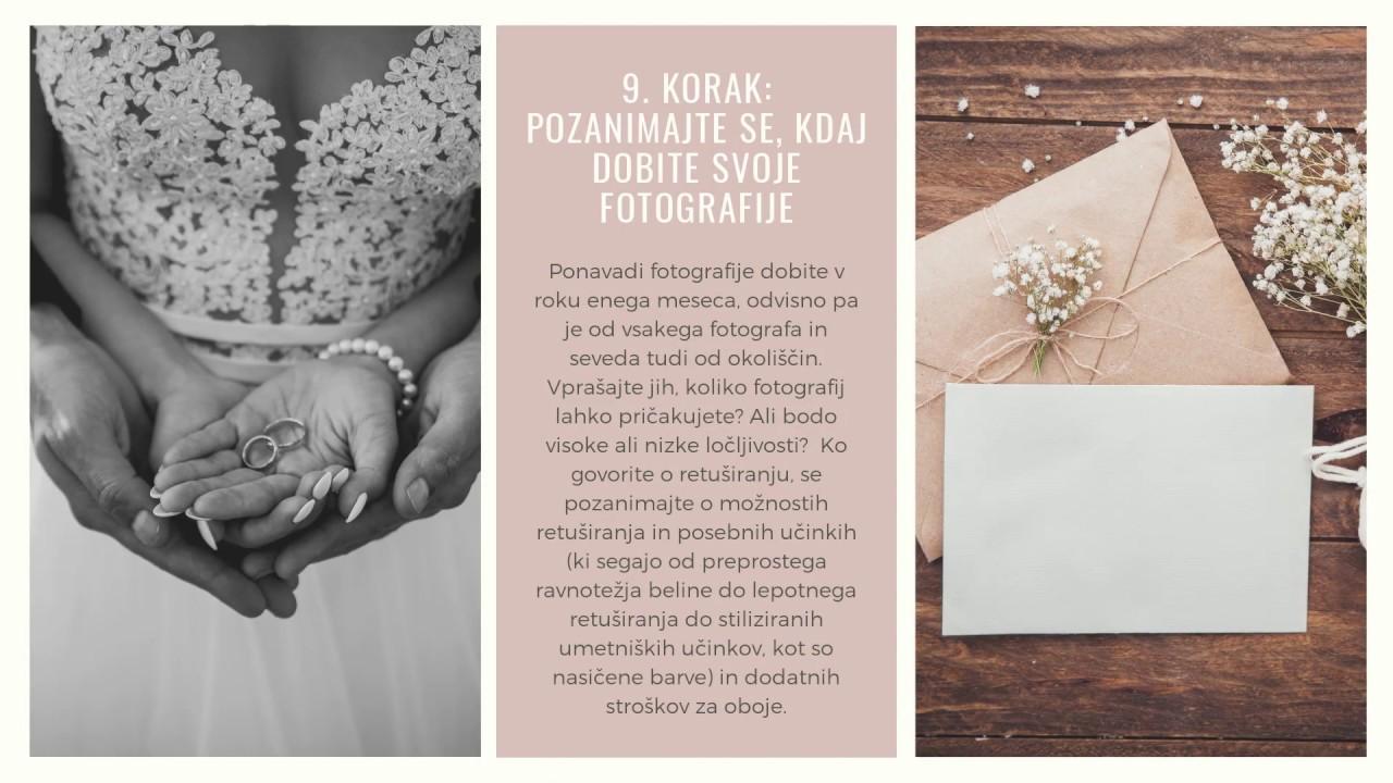 10 korak, kako najti poročnega fotografa