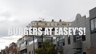 VLOG 4 - BURGERS AT EASEY'S, COLLINGWOOD, MELBOURNE, AUSTRALIA