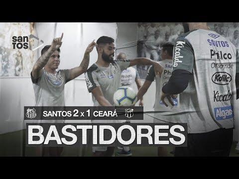 SANTOS 2 X 1 CEARÁ | BASTIDORES | BRASILEIRÃO (17/10/19)