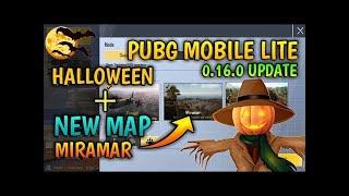 PUBG MOBILE LITE HALLOWEEN & NEW MAP UPDATE 0.16.0 || PUBG MOBILE LITE || WHITE DEVIL
