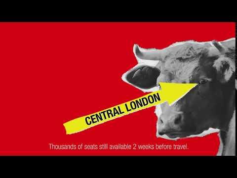 Bullseye: Central Glasgow to London