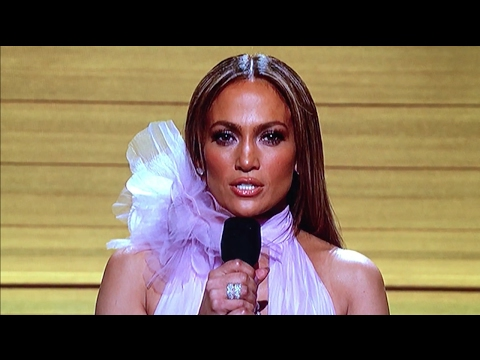 Jennifer Lopez Trump Meltdown at Grammys 2017