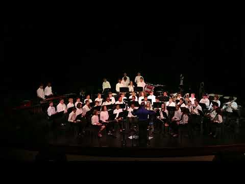 Toano Middle School 7th Grade Band 2018