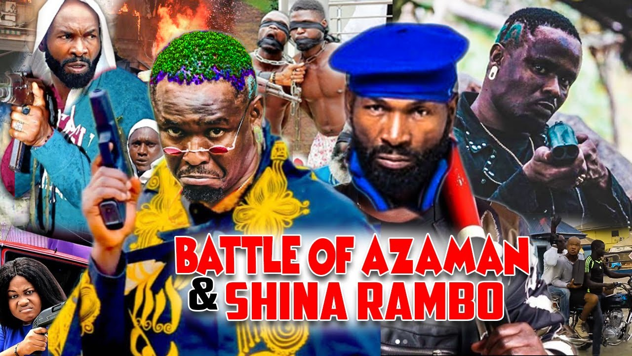 Download Battle Of Azaman And Shina Rambo - (New Movies) Zubby Michael And Sylvester Madu Nollywood Movies.