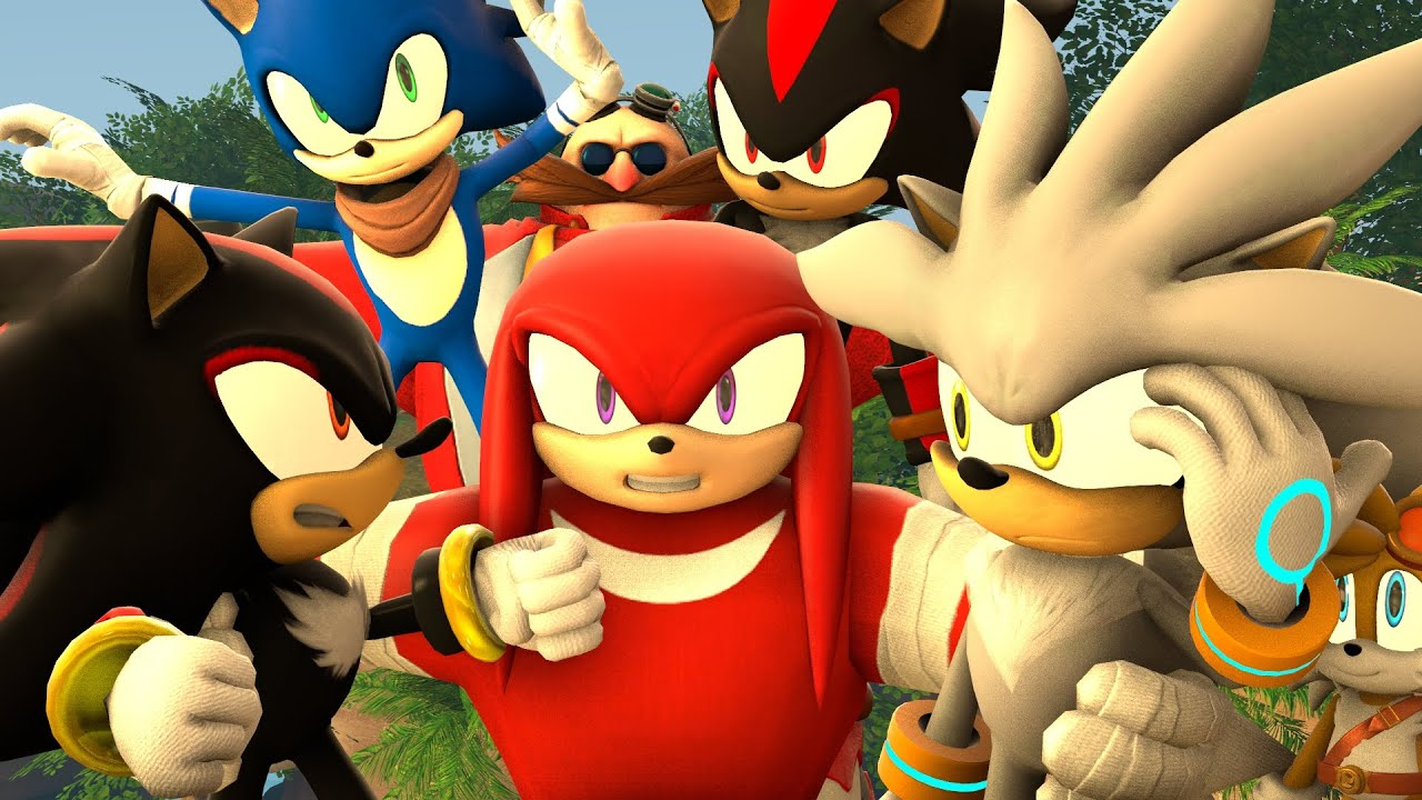 Sonic and shadow and silver yaoi