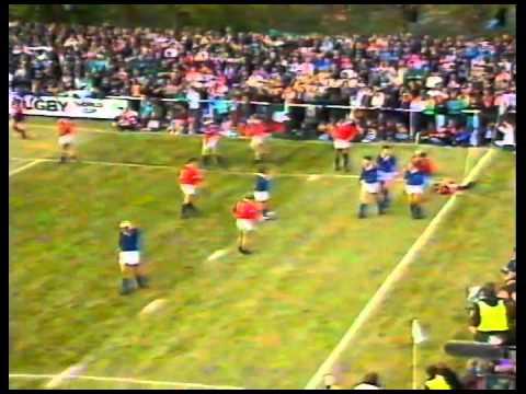 RWC 1991 10 05 Pool A Italy v USA Ivan Francescato azioni + meta Vaccari