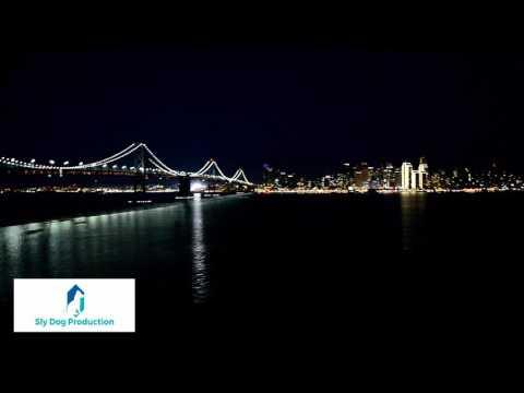 San Francisco Bay Bridge and Skyline From Treasure Island