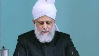 Friday Sermon: 19th November 2010 - Part 5 (Urdu)