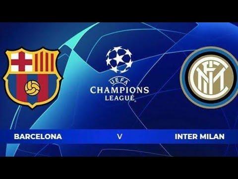 Live Streaming Barcelona Vs Inter Milan
