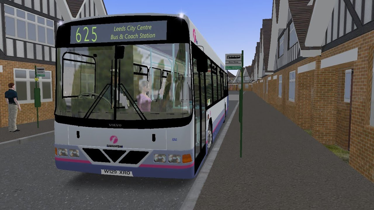 OMSI 2 Harrothorpe Route 625 Wright Renown B10BLE First Olympia (Downloads)