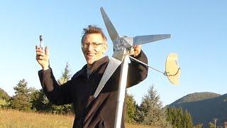Ep 11: Éolienne 3D en aluminium / 3D aluminum wind turbine