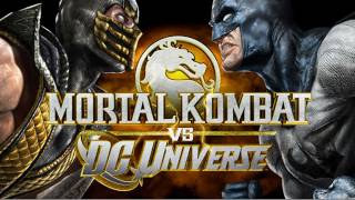 Gameplay Fight Night!!!! DC universe VS Mortal Kombat