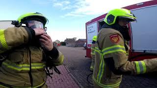 Brandweer Den Oever - Prio 1 voertuigbrand