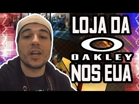 LOJA DA OAKLEY NO MAIOR SHOPPING DE MASSACHUSETTS