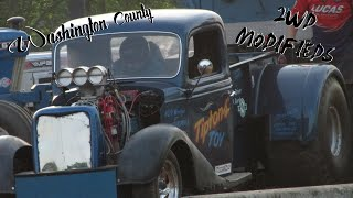 Washington County Tractor Pulls - 2wd Modifieds 5-28-16