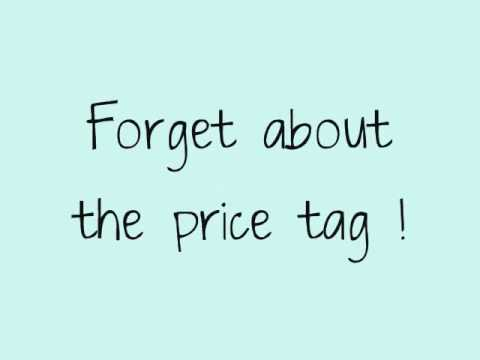 Price Tag - Jessi J ft. B.O.B [ LYRICS ON SCREEN]