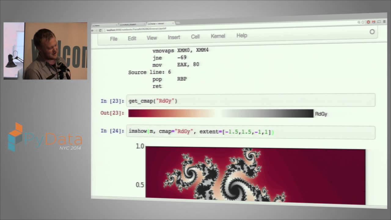 Image from Stefan Karpinski - Julia + Python = ♥