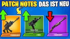Patch Notes LEAKED 😮 Waffen Balancing und alle Änderungen | Fortnite Deutsch