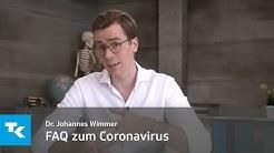 FAQ zum Coronavirus  | Dr. Johannes Wimmer
