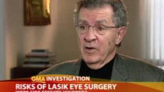 LASIK Eye Surgery Side Effects Not Taken Seriously, Says Former FDA Regulator - ABC News2.flv