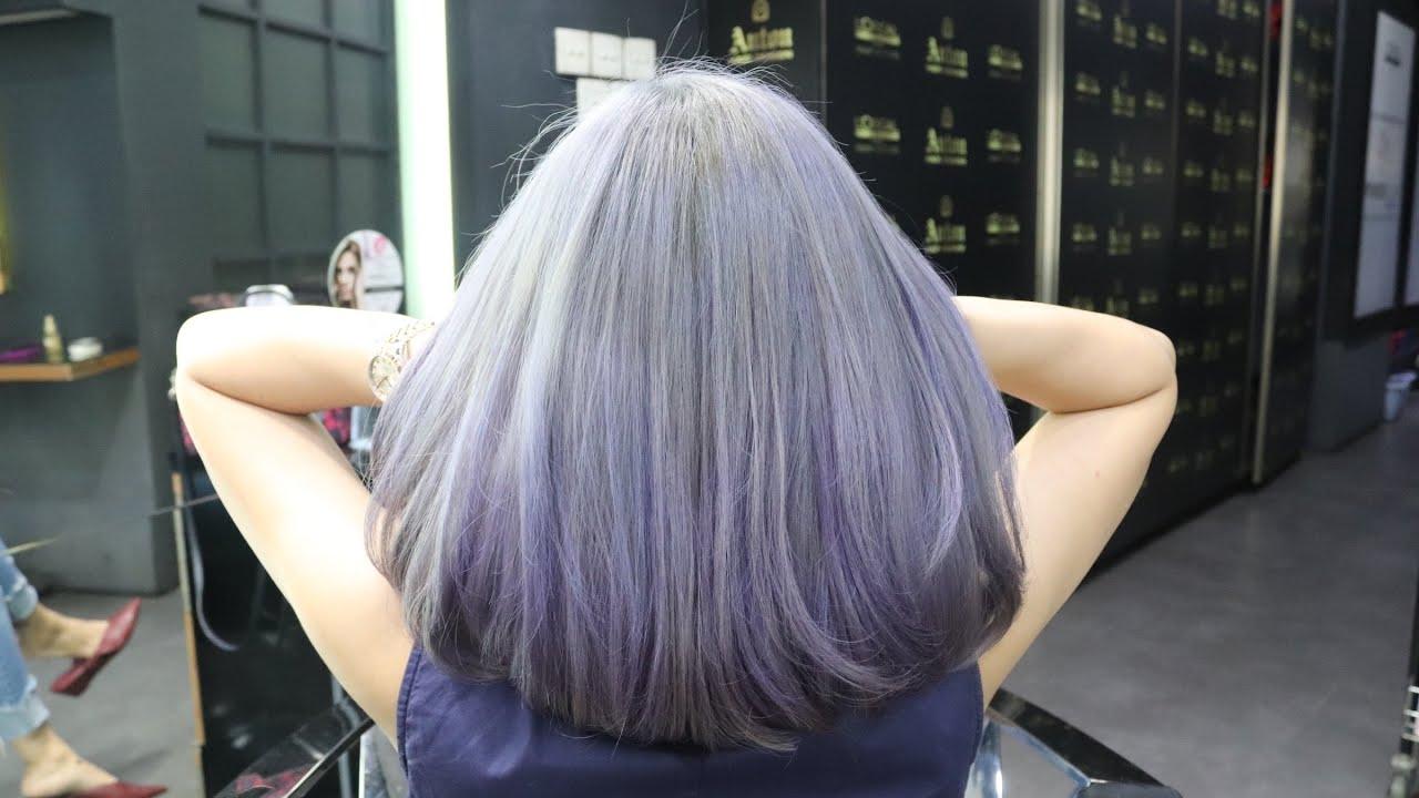 Gunting Rambut Cewe Model Oval Dan Warna Rambut Trend 2020 Cutting Hair Women Oval And Color Youtube