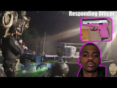 body-cam:-officer-in-patrol-car-shot-at-unprovoked---lapd-los-angeles-police-department