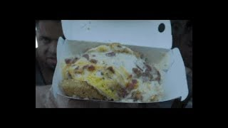 Eating Jack In The Box Wakey Bakey Hash @hodgetwins