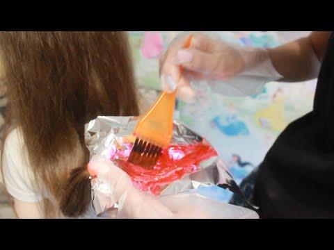 Яркие пряди...Красим волосы пигментом прямого действия от Estel